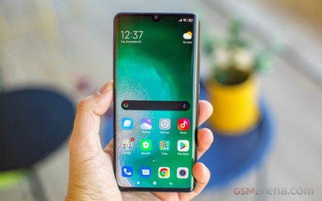 Xiaomi Mi Note 10 тесты экрана