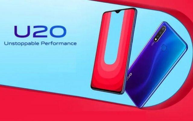 vivo U20: характеристики и цены официально