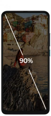 характеристики экрана Motorola One Hyper