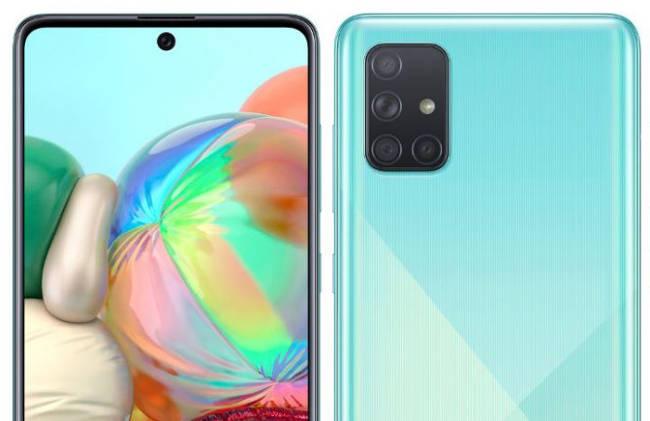 Samsung Galaxy A71: характеристики, сравнение с Samsung Galaxy A70