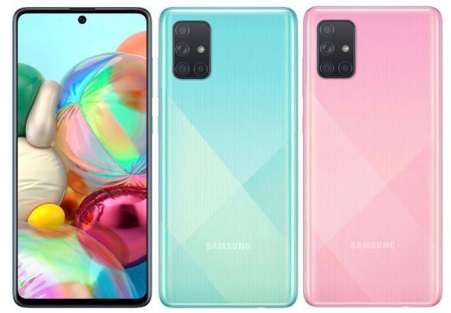 технические характеристики и описание Samsung Galaxy A71