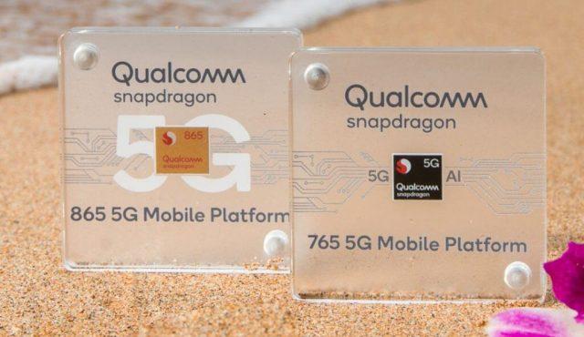 новые процессор Snapdragon 865 и Snapdragon 765