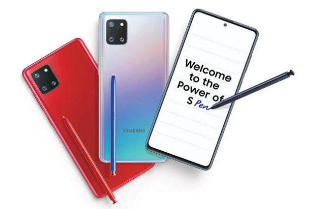 Анонсирован Samsung Galaxy Note 10 Lite: характеристики официально