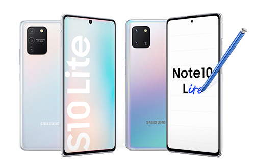 Galaxy Note 10 Lite: сравнение с Galaxy S10 Lite