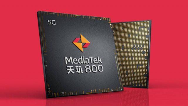 процессор MediaTek Dimensity 800 модем 5G