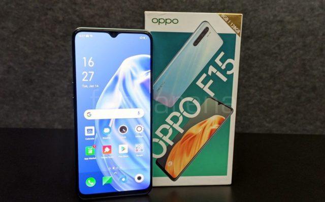 смартфон Oppo F15 цена