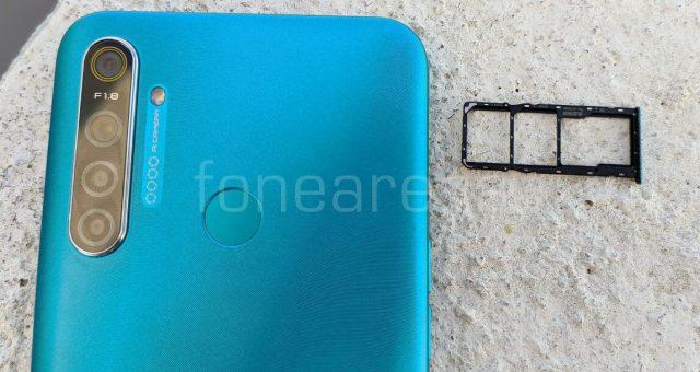 Realme 5i слот для карты памяти
