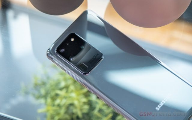 Galaxy S20 Ultra камера