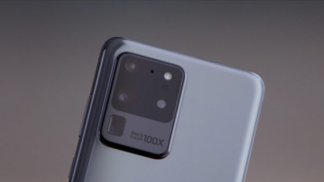 Samsung Galaxy S20 Ultra камера