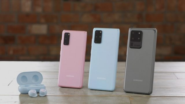 смартфоны Samsung Galaxy S20 Ultra, S20 и S20+характеристики