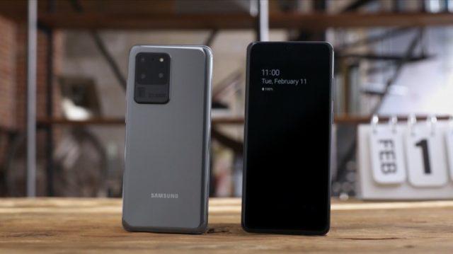 Samsung Galaxy S20 Ultra характеристики телефото камеры