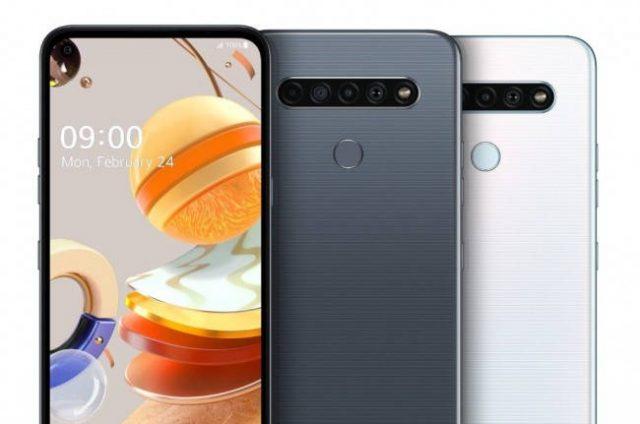 LG K61: характеристики официально