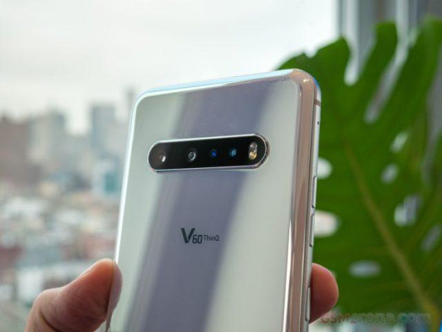 обзор LG V60 ThinQ камера