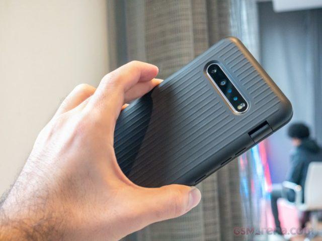 обзор LG V60 ThinQ 5G размеры