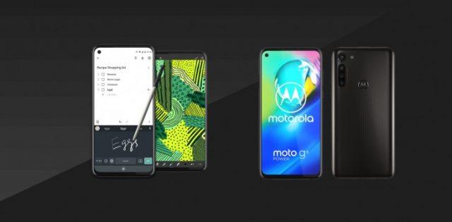 Представлены Moto G Stylus и Moto G8 Power