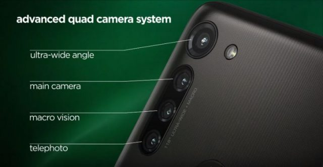 Moto G8 Power камера