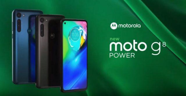 Moto G8 Power характеристики