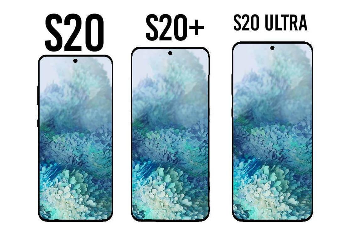 Samsung Galaxy S20 экран