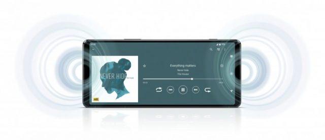 Sony Xperia 1 II динамики