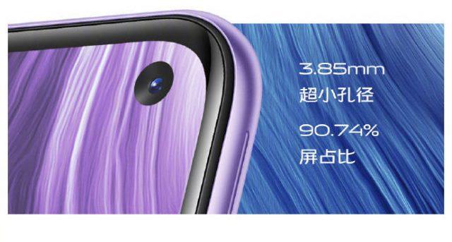 vivo Z6 5G характеристики экрана