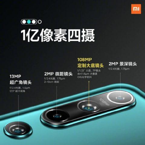 Xiaomi Mi 10 камера, характеристики