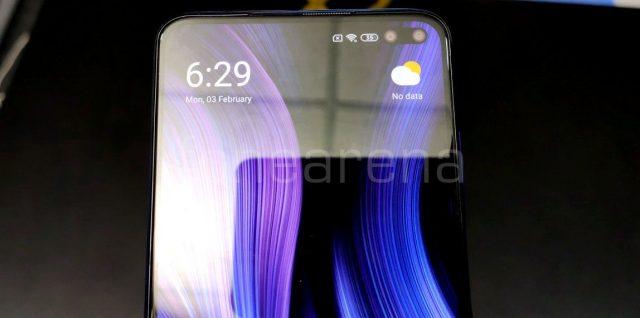Xiaomi Poco X2 вырез для двойной фронтальной камеры