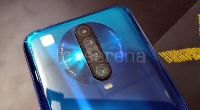 Xiaomi Poco X2 задняя панель
