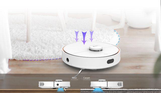 режимы работы робота пылесоса 360 S7