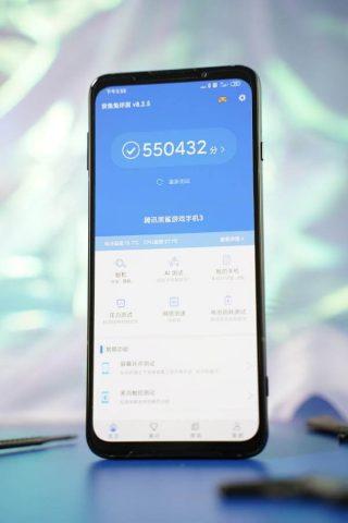 игровой смартфон Xiaomi Black Shark 3 Pro в Antutu