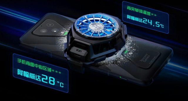 Black Shark 3 Pro система охлаждения