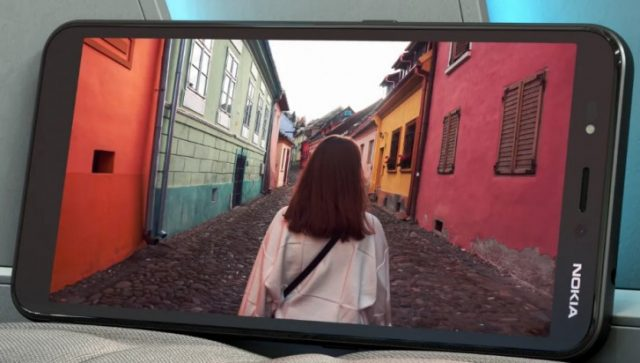 Nokia C2 характеристики экрана