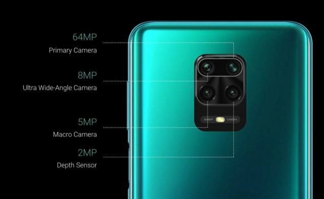 характеристики Redmi Note 9 Pro Max камера