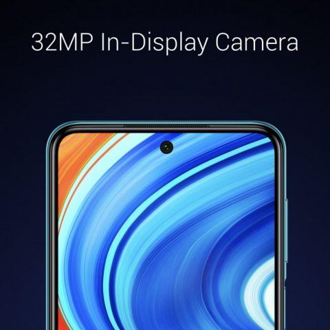 Redmi Note 9 Pro Max фронтальная камера характеристики