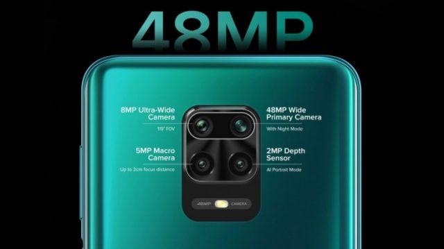 Redmi Note 9 Pro характеристики камеры