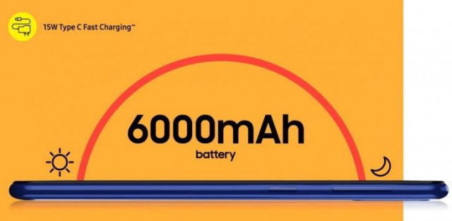 характеристики батареи Samsung Galaxy M21