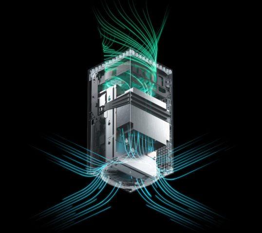 консоль Xbox Series X охлаждение