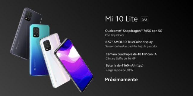 Xiaomi Mi 10 Lite характеристики