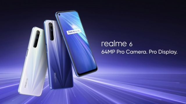 смартфон Realme 6 камера
