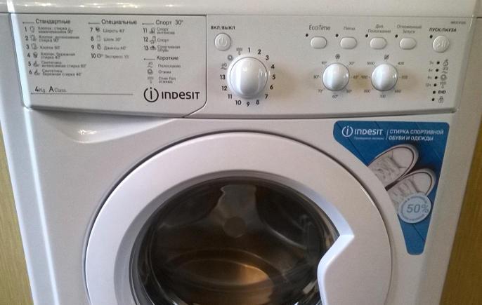Любительский обзор и отзыв на стиральную машину INDESIT IWUB 4105