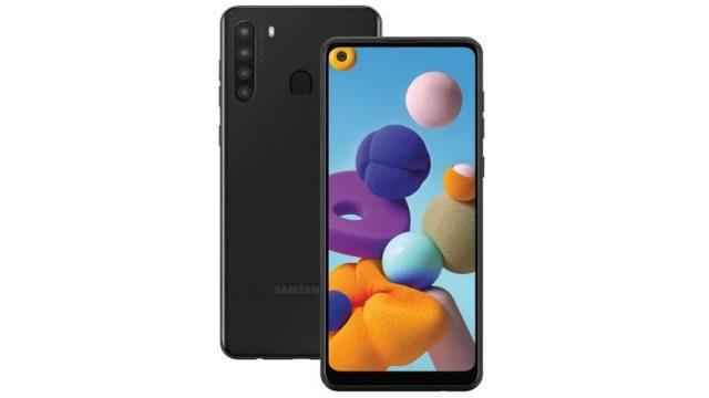 Samsung Galaxy A21 цена и характеристики