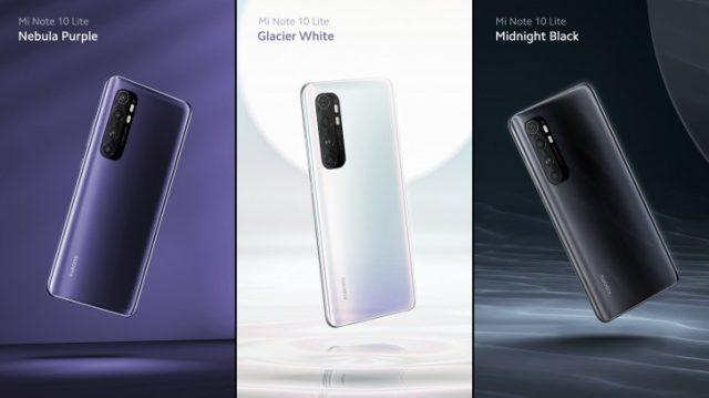 Xiaomi Mi Note 10 Lite характеристики