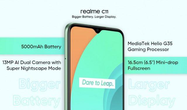 Realme C11 характеристики