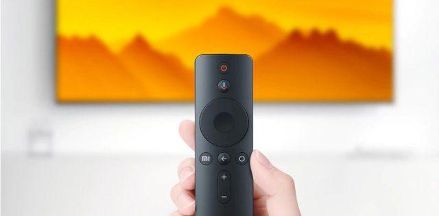 пульт управления в телевизоре Xiaomi Mi TV 4S