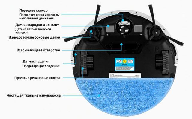 робот-пылесос ILIFE V50 купить