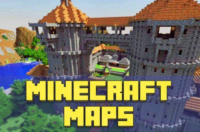 Скачать карты на выживание для Minecraft PE 1.16 и 1.16.0