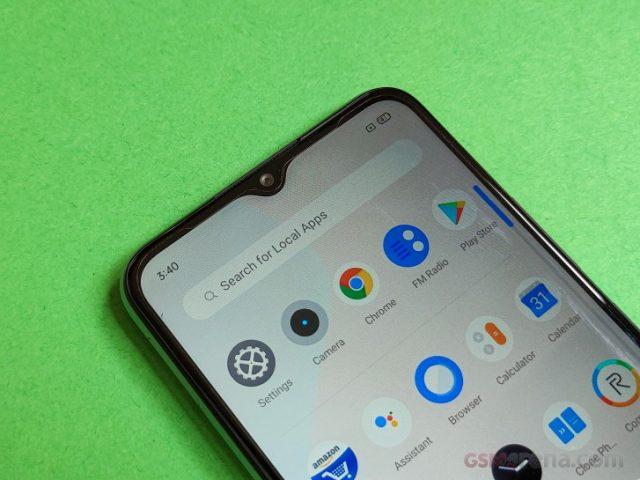 Экран Realme C15 характеристики