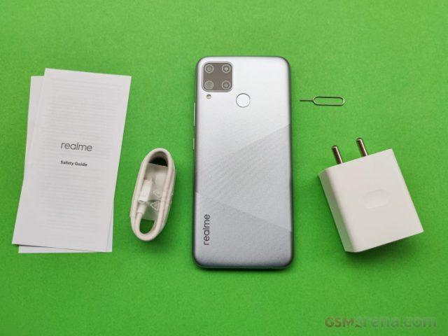 Обзор Realme C15 распаковка