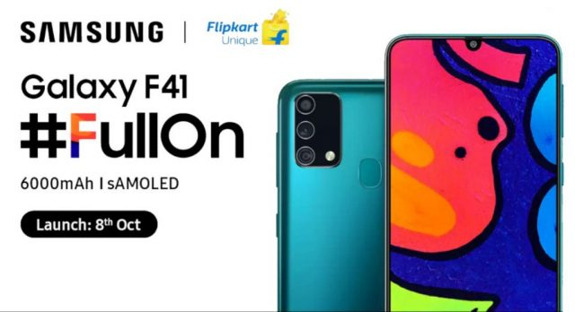 Samsung Galaxy F41 характеристики цена