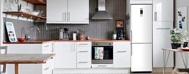 Холодильник Ascoli ACDG450WE в интерьере