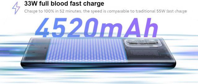 характеристики Redmi K40 Pro Plus батарея
